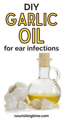 DIY Garlic Oil For Ear Infections