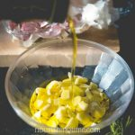 Crushed Garlic Steeping In Olive Oil For Ear Infections