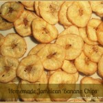 Homemade Jamaican Banana Chips