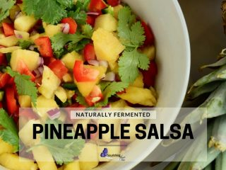 Lacto-Fermented Pineapple Salsa