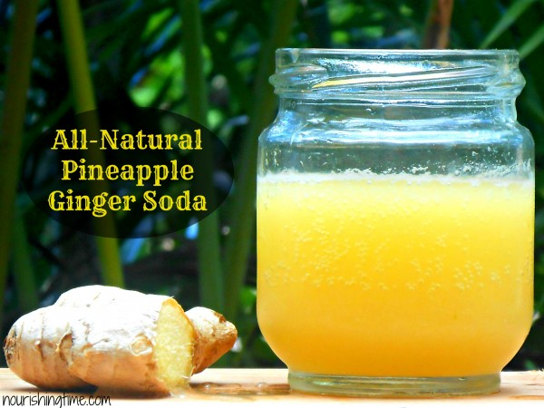 Pineapple Ginger Soda All-Natural