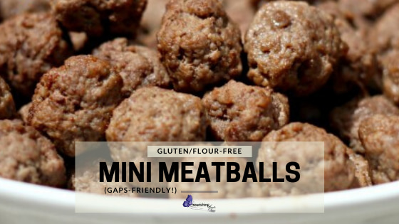 Mini Meatballs Without Flour or Breadcrumbs