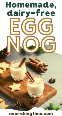 Raw Nondairy Egg Nog