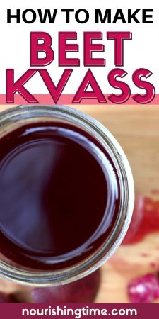 How To Make Beet Kvass Without Whey