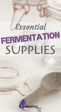 Essential Fermentation Supplies Pin