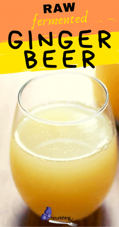 Raw Fermented Ginger Beer