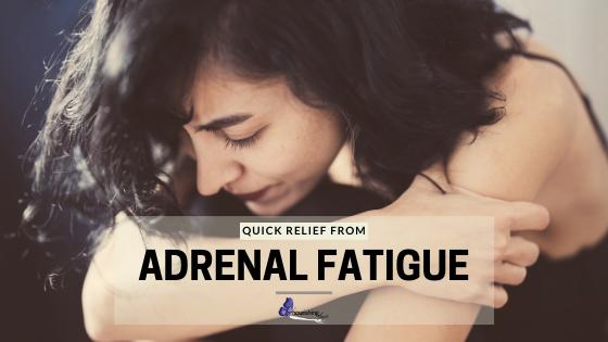 Tired Woman Seeking Fast Relief From Adrenal Fatigue