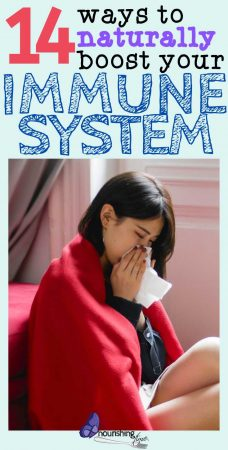 14 Ways To Boost Your Immune System Naturally Pin