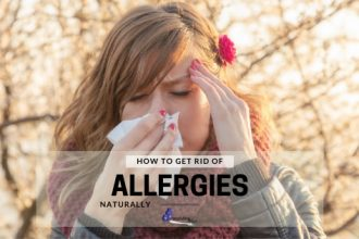 Lady Sneezing - How To Get Rid Of Allergies Naturally