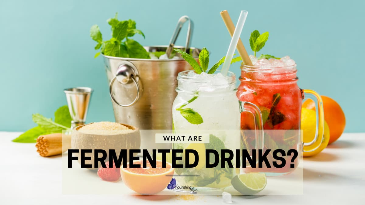 Different Fermented Drinks & Ingredients